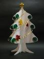 クイリング「クリスマスツリーの立体カード」