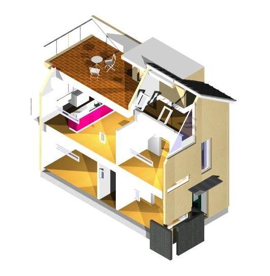 観音台の家Ⅱ