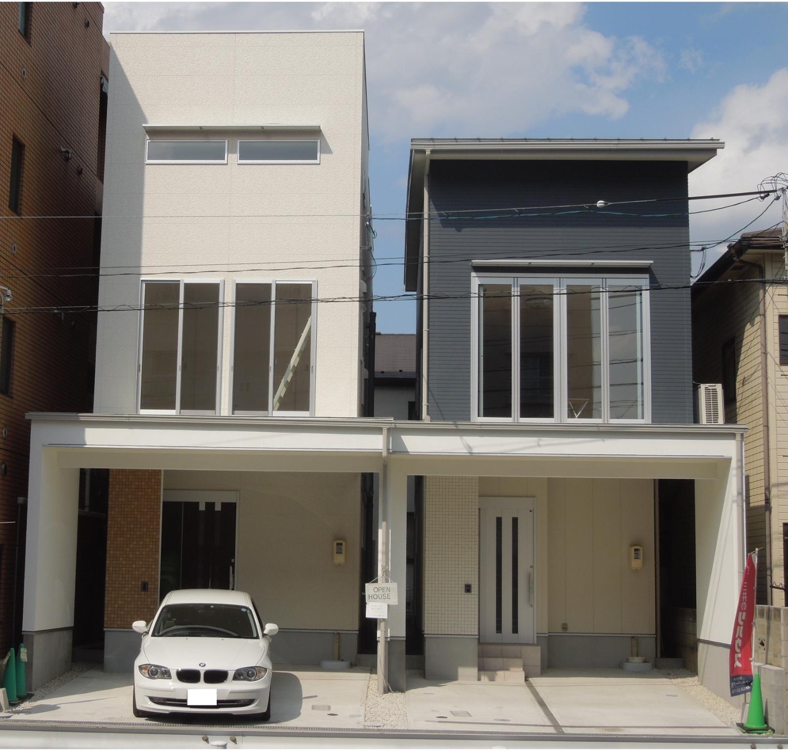 三筋の家A棟・B棟
