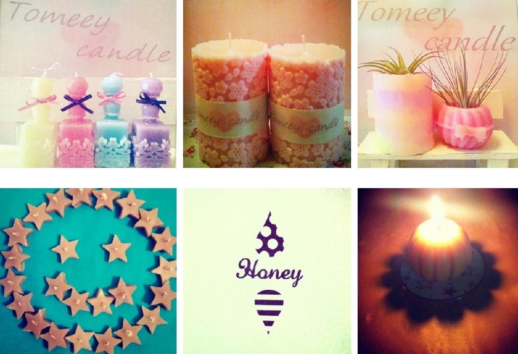 キャンドルTomeey Honey
