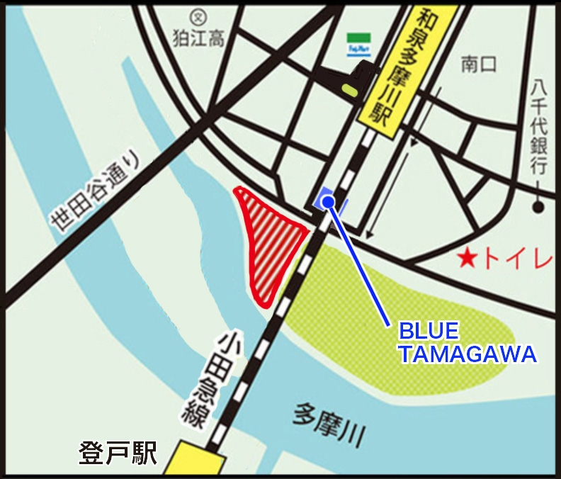 多摩川地図