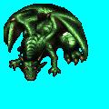 巨大ドラゴン緑