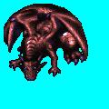 巨大ドラゴン赤