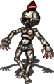 ボロボロな人形モヒカン