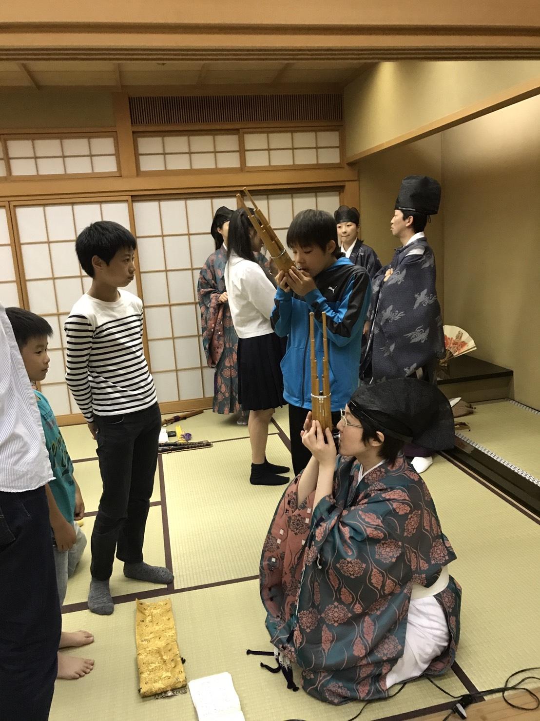 20170610雅楽体験会4