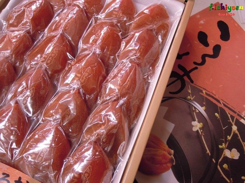 亀屋農園・大石勲さんの「最勝 ころ柿」 Today's Fruits ♪