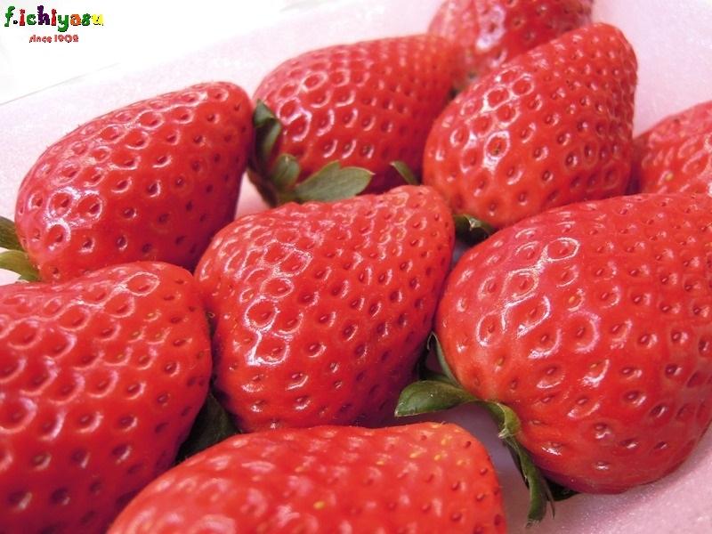 栃木といえば「スカイベリー」(^^♪ Today's Fruits ♪