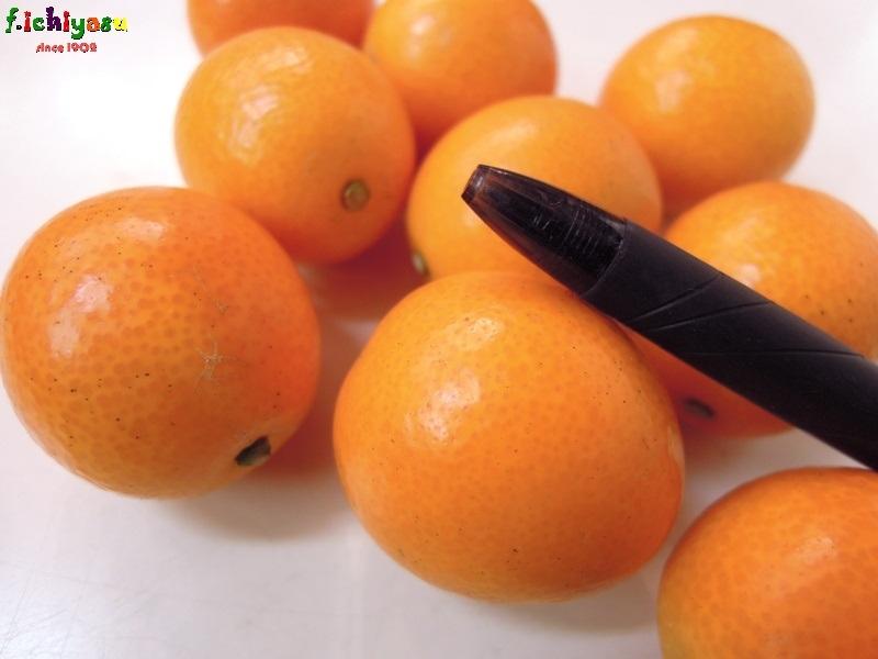 露地栽培の金柑も侮れませんよ(^^)v Today's Fruits ♪