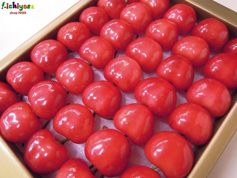 信州・中野のサクランボ「香夏錦」 Today's Fruits ♪