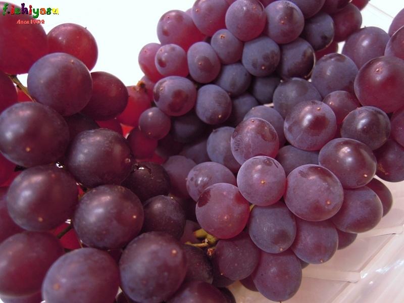 奈良の「デラウェア」も入荷しました (^^♪ Today's Fruits ♪