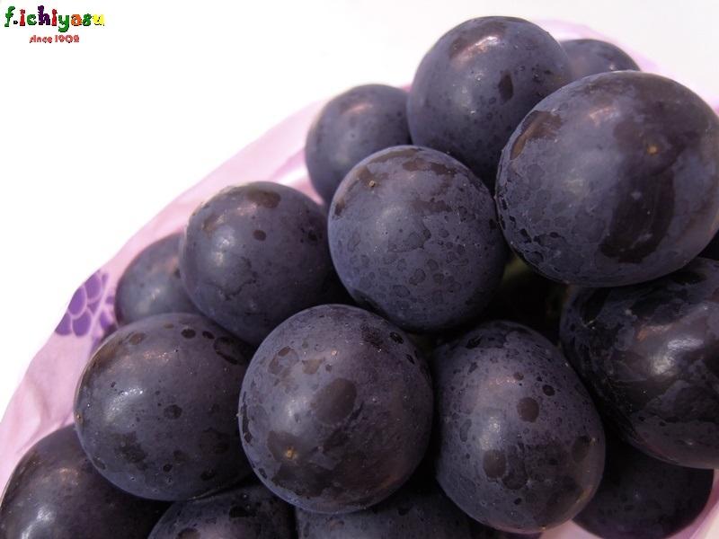 「ナガノパープル」入荷してます (^^)v Today's Fruits ♪