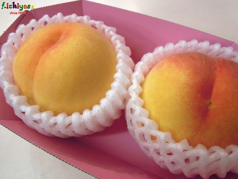 黄金桃「つきあかり」 Today's Fruits ♪