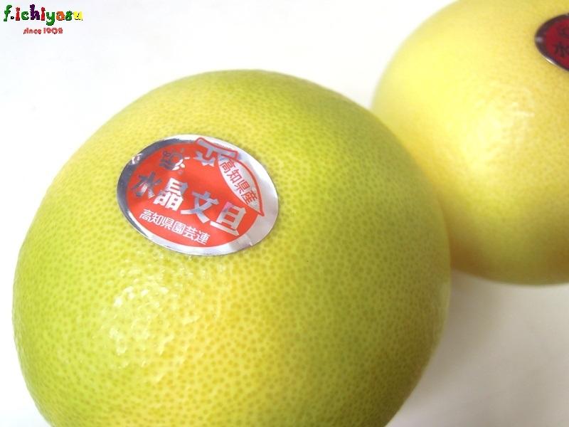 温室栽培の「水晶文旦」 Today's Fruits ♪