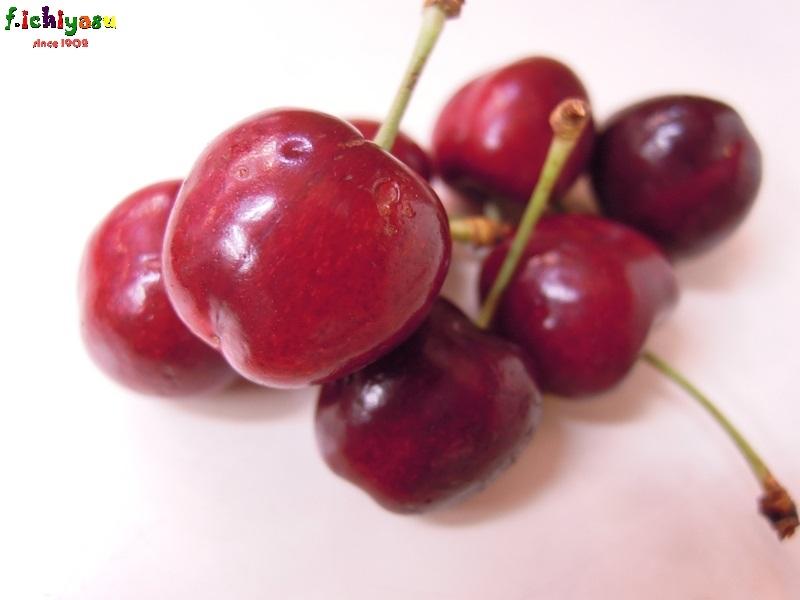 カリフォルニア産の「アメリカンチェリー」 Today's Fruits ♪