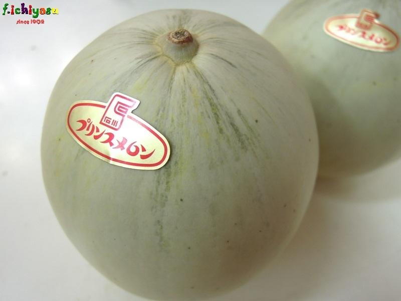 地物!松任産の「プリンスメロン」 Today's Fruits ♪
