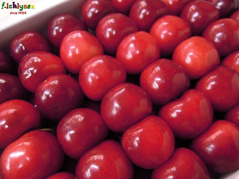 さくらんぼの逸品「紅秀峰」 Today's Fruits ♪