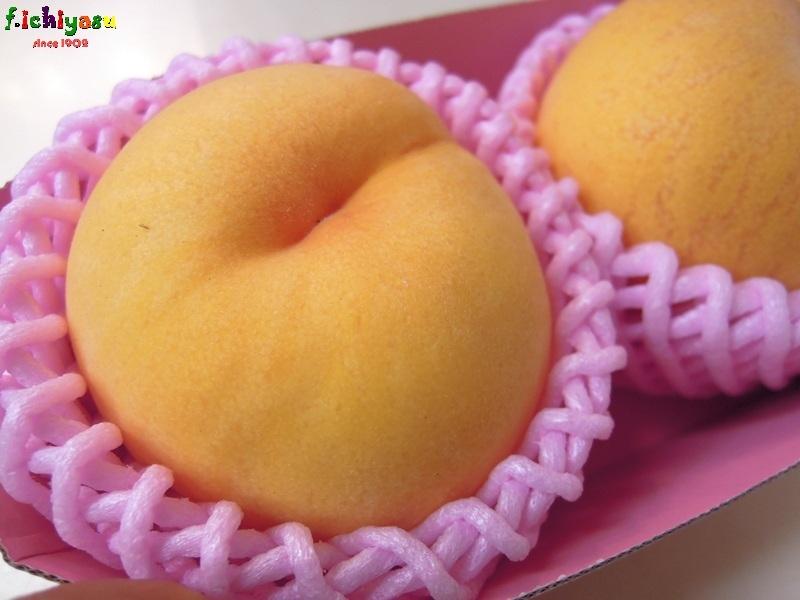 山梨の「ゴールデンピーチ」 Today's Fruits ♪
