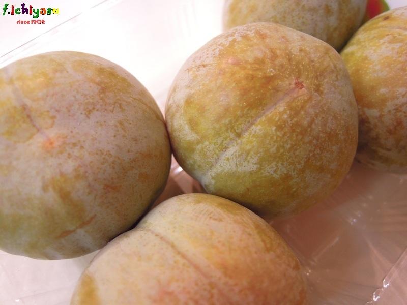 能登・押水特産の「ソルダム」 Today's Fruits ♪