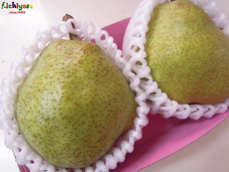 「ラ・フランス」登場!(^^♪ Today's Fruits ♪