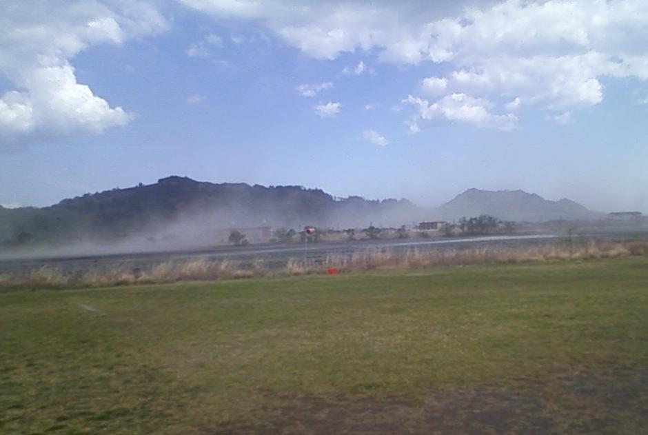 午後の爆弾低気圧で強烈な風と雨!!