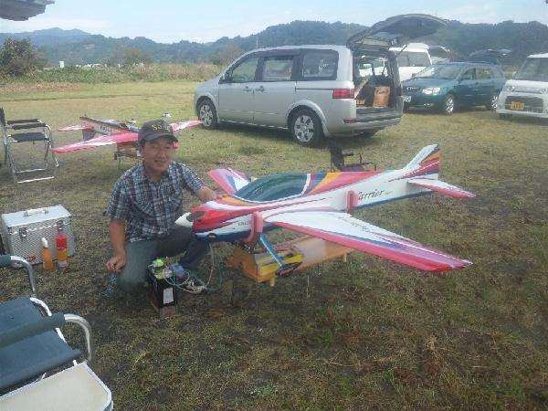 YMさんと機体
