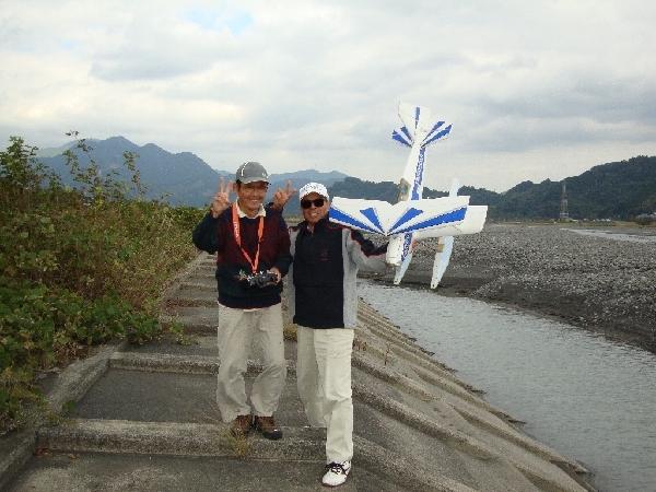Kさん水上機フライト成功