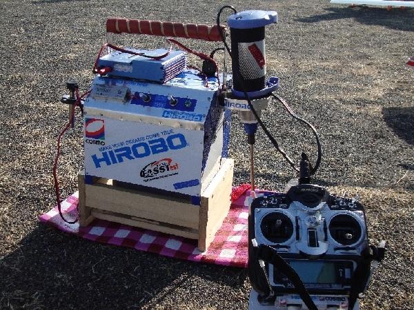 N野さんの自作ヘリ用スターターボックス