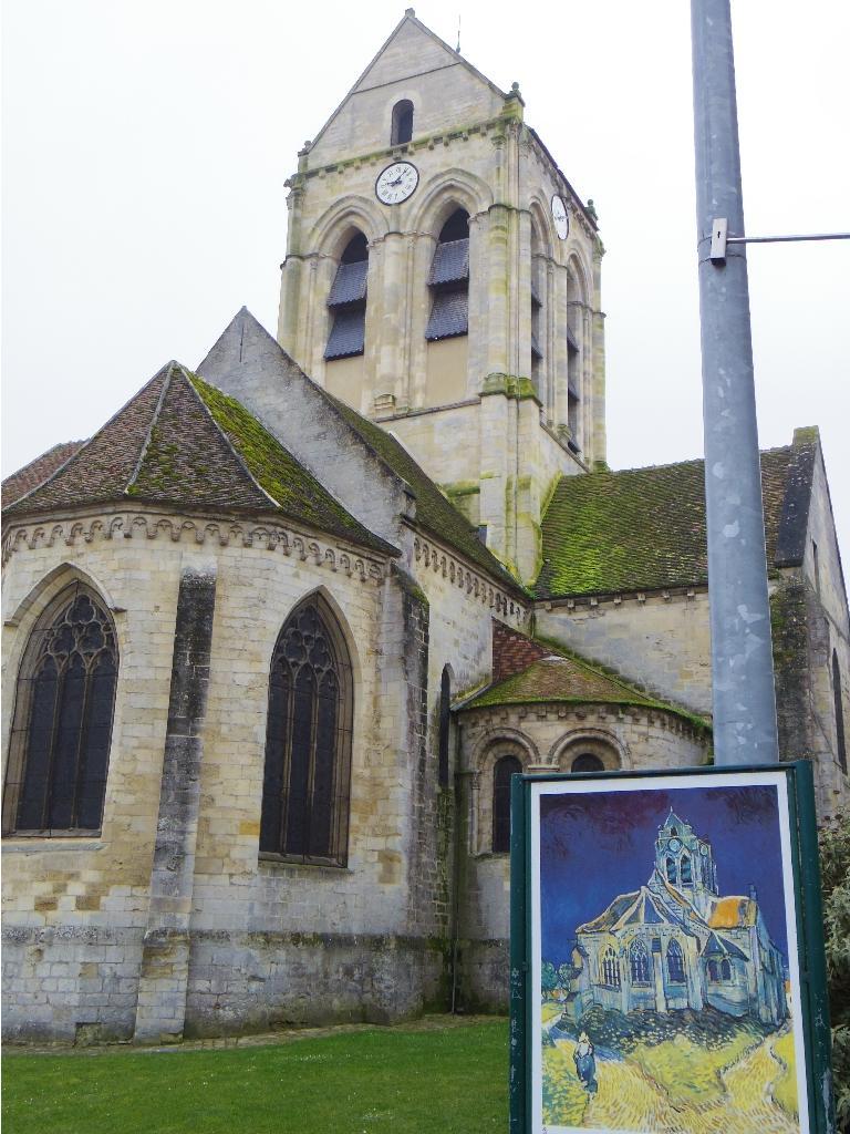 オーヴェルの教会