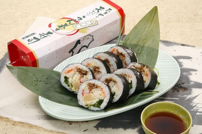 うどん巻寿司