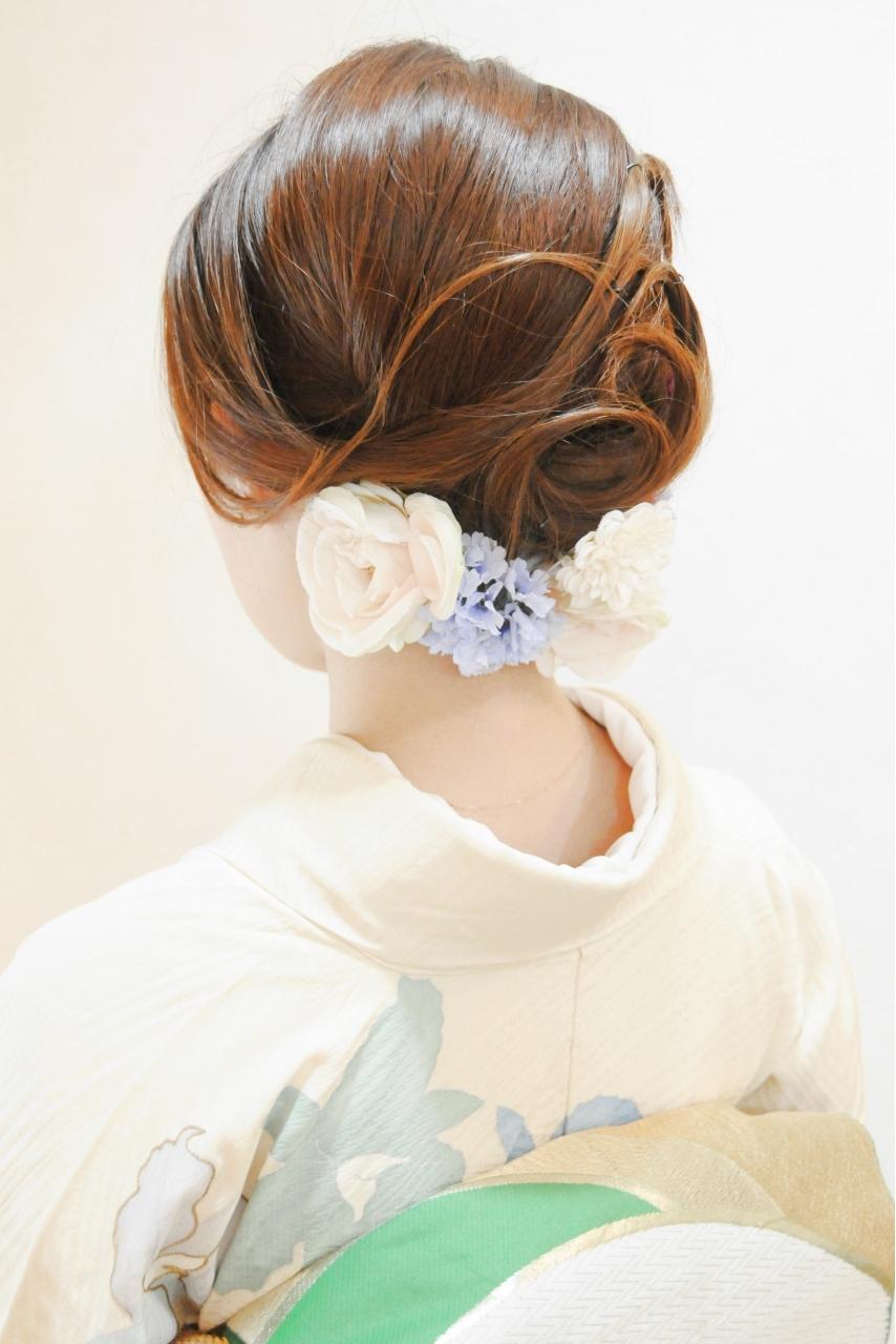 着付け 美容院 横浜桜木町 元町中華街 石川町 みなとみらい 安い早朝 ヘアセット メイクアップ