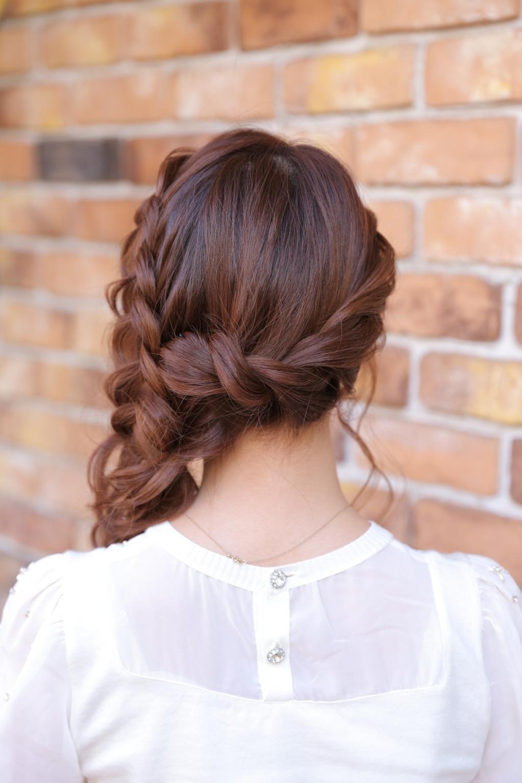 結婚式などのヘアセット