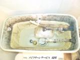トイレタンク内部【Before】