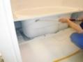 浴槽下高圧洗浄