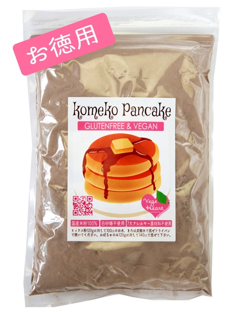 米粉パンケーキ グルテンフリー ベジハート