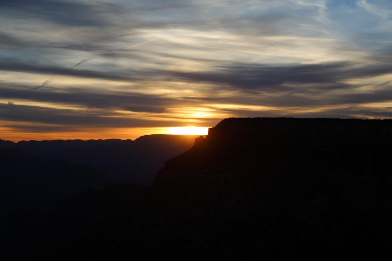 グランドキャニオン 朝日 Grand Canyon