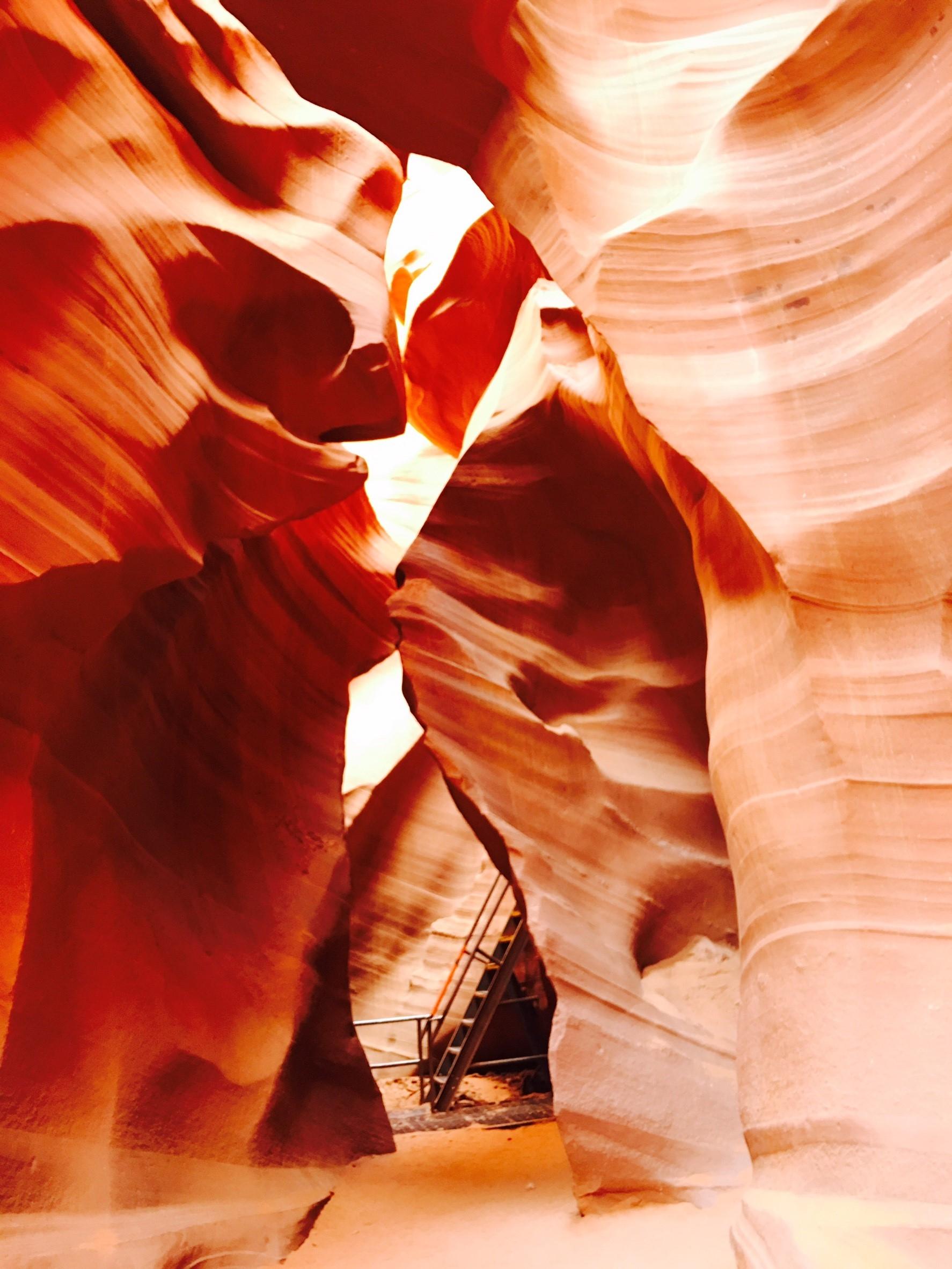 アンテロープキャニオン Antelope Canyon アメリカ横断