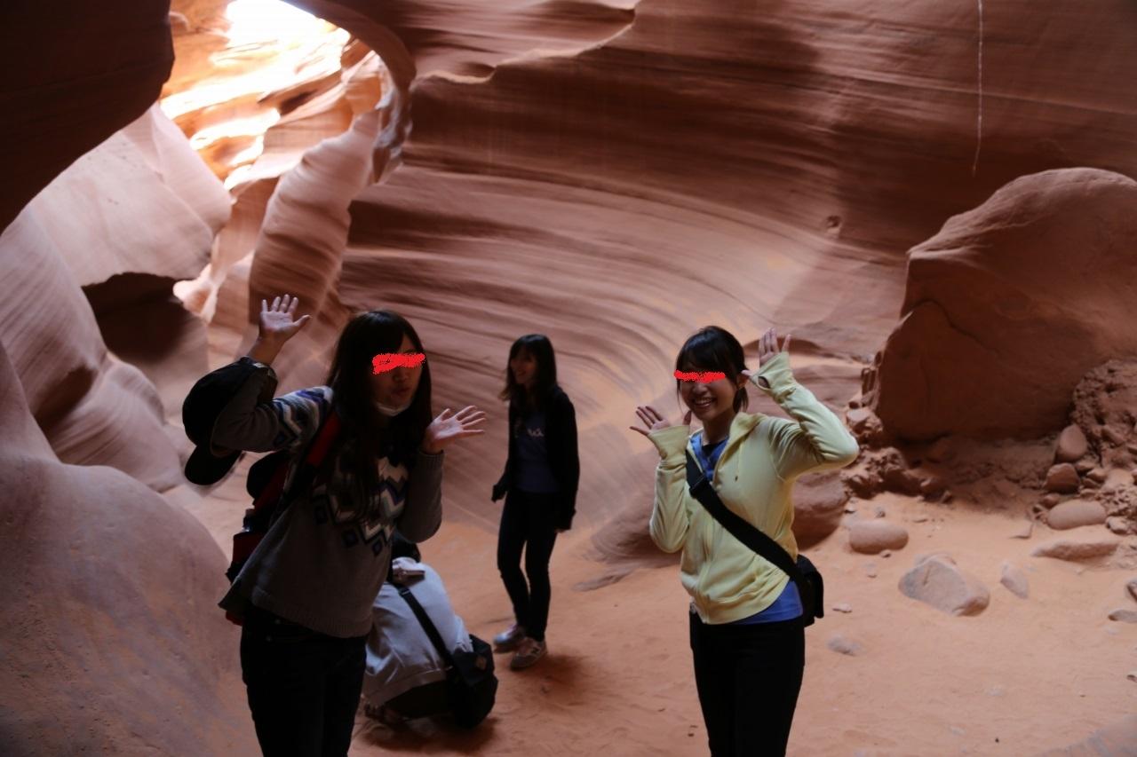 アンテロープ・キャニオン Antelope Canyon アメリカ合衆国 アリゾナ州 ページ(Page, Arizona)