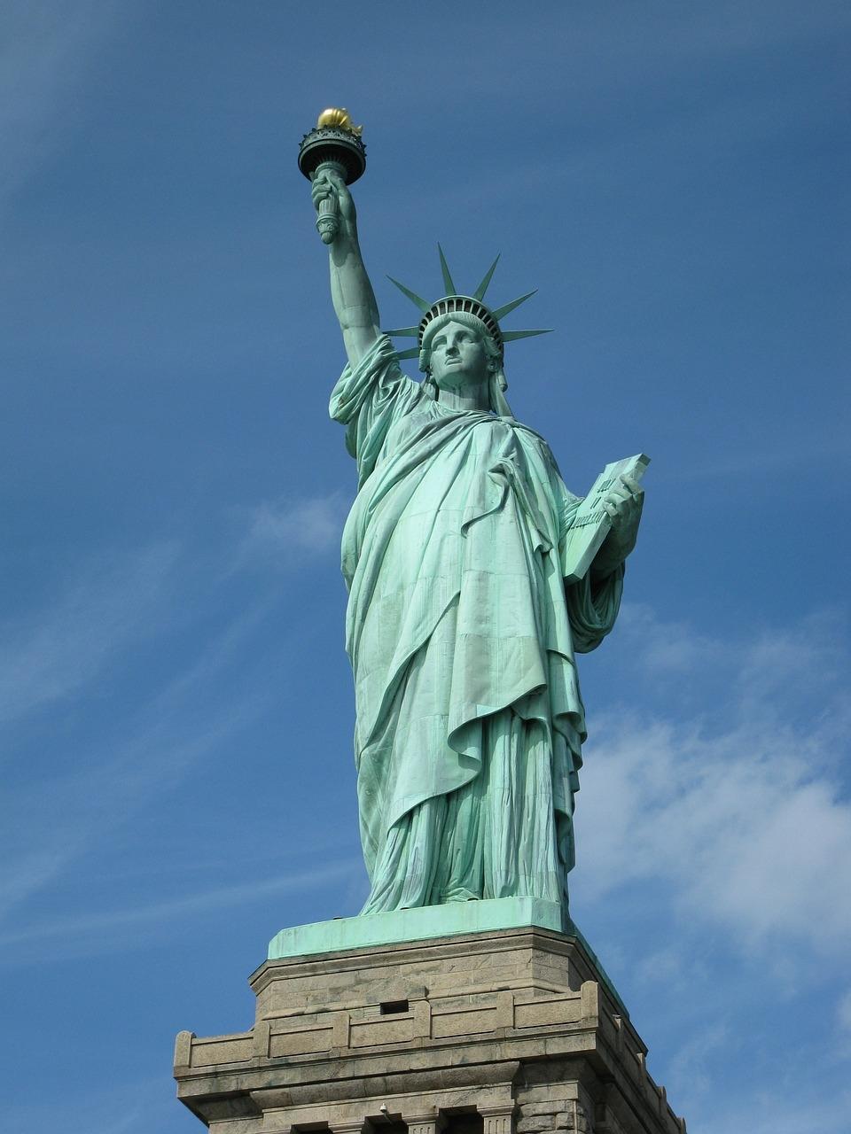 自由の女神 ニューヨーク アメリカ横断