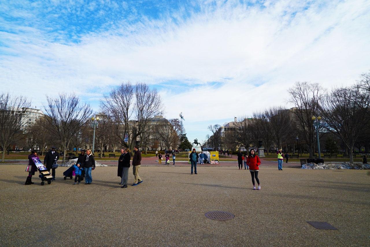 ホワイトハウス アメリカ横断ツアーでいった The White House
