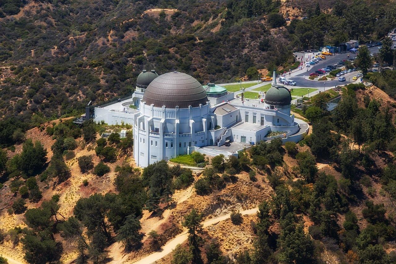 グリフィス天文台 ロサンゼルス アメリカ横断ツアー