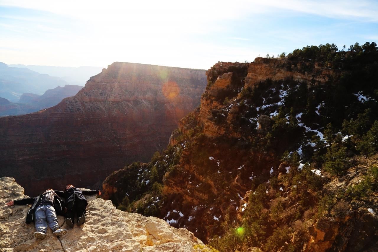 グランドキャニオン アリゾナ アメリカ横断ツアー Grand Canyon ARIZONA