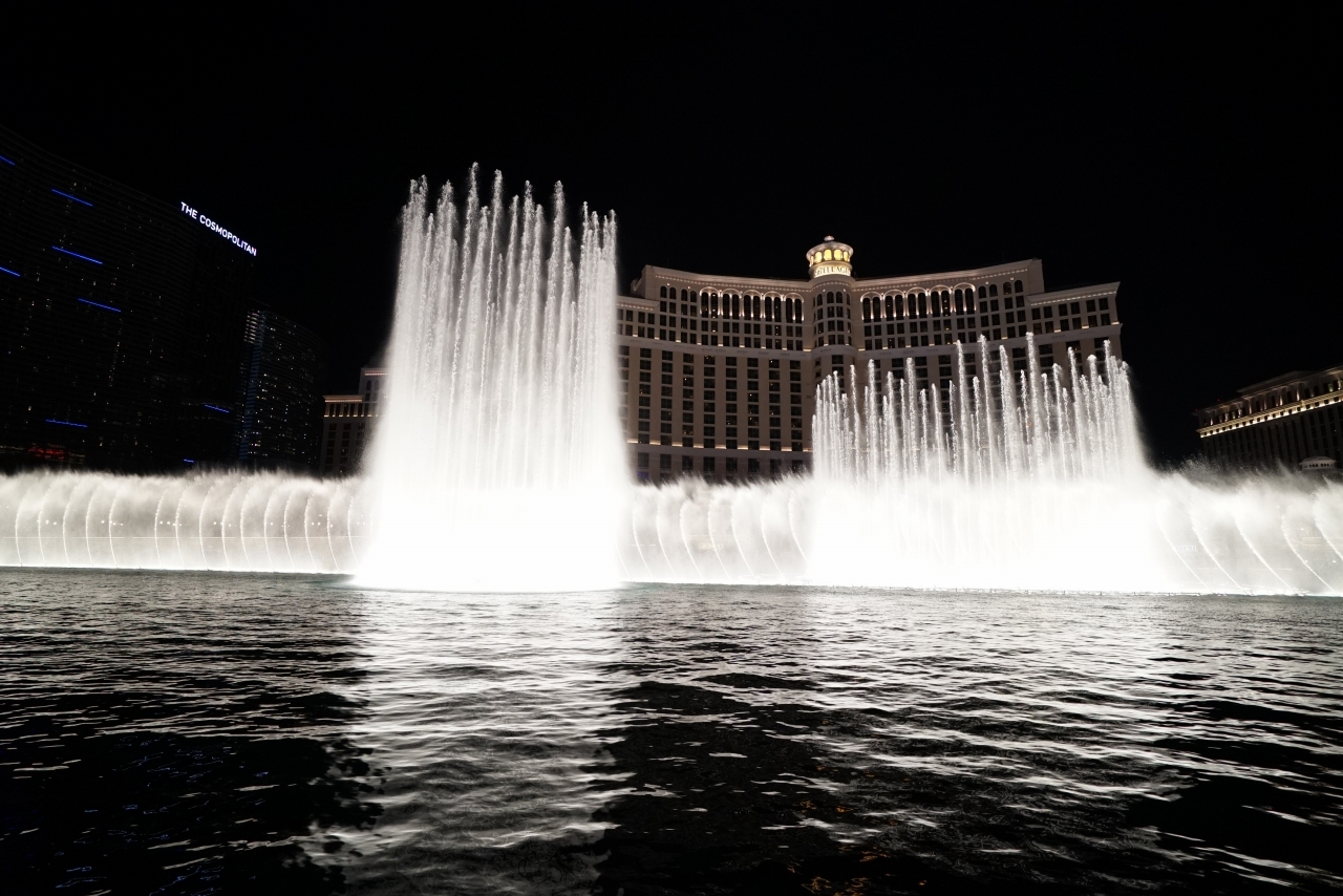 ラスベガス噴水ショー