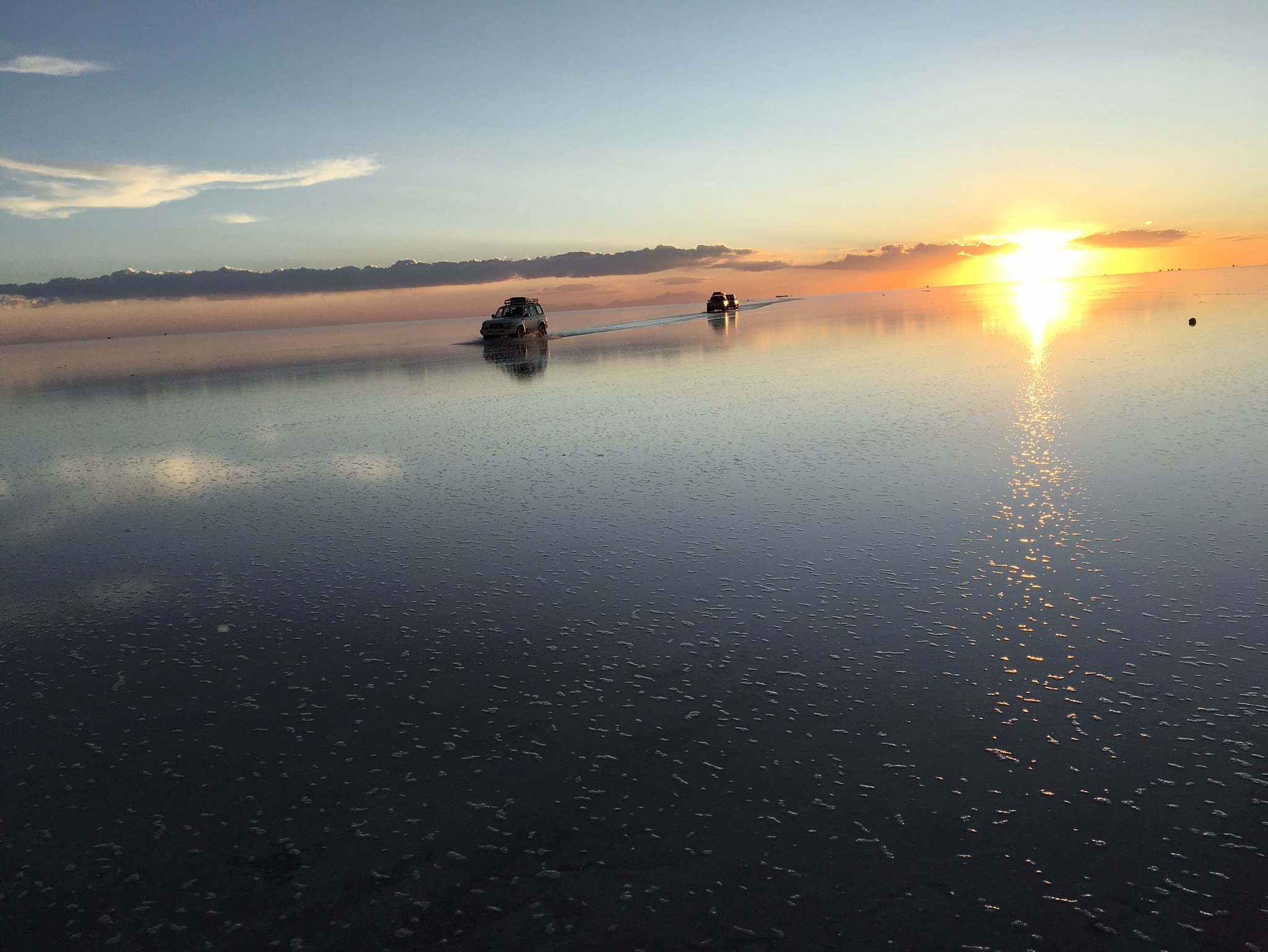 ウユニ塩湖の絶景
