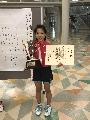 6年シングルス 優勝 青木桜子さん