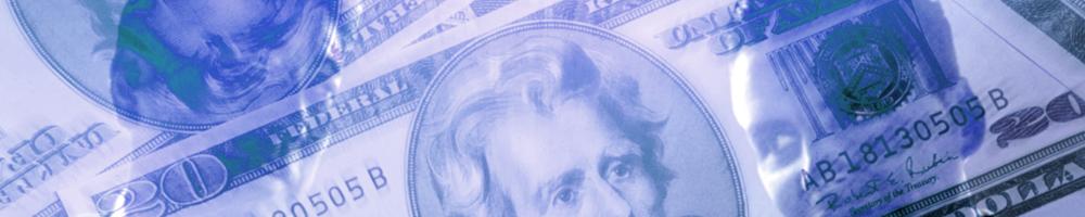 お金1_ブルー